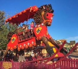Giant Rocking Horse Ride