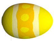 yellow-egg-with-white-stripes